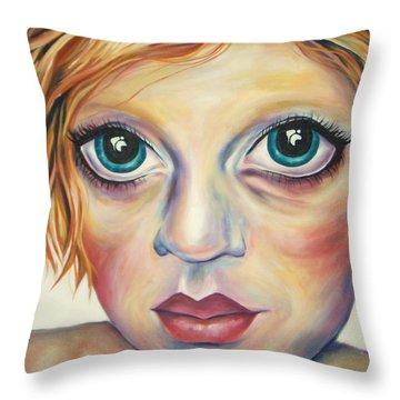 A Harmonious Replication Throw Pillow