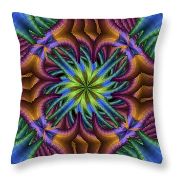 A Jungle Throw Pillow