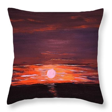 A Little Sun For Gaby Throw Pillow