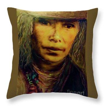 A Long Journey Home Throw Pillow