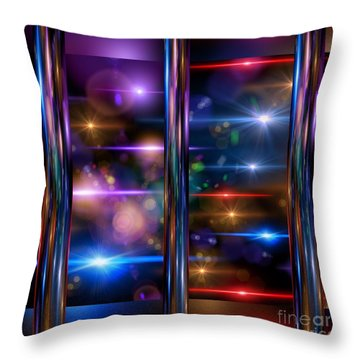 A Lot Going On Throw Pillow