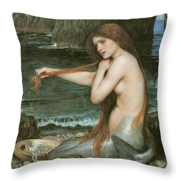 Redheads Throw Pillows
