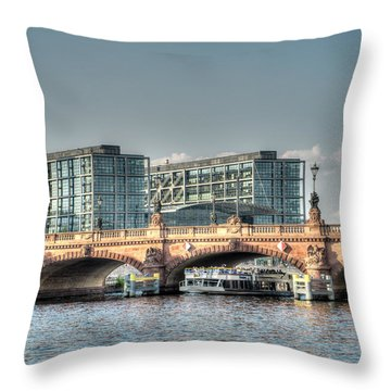 A View Under The Bridge Throw Pillow