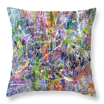 Abstract #87 Throw Pillow