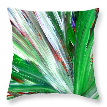 Abstract Explosion Series 92215 Throw Pillow