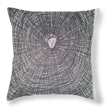 Abstraction 9 Throw Pillow