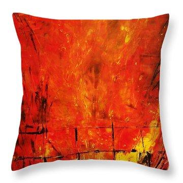 Acrylics Throw Pillow