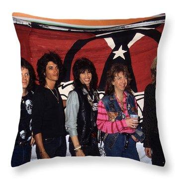 Aerosmith Throw Pillow