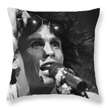 Aerosmith Steven Tyler Throw Pillow