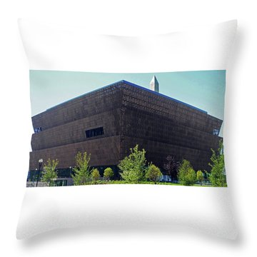 African American Museum 1 Throw Pillow