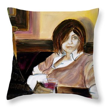 After A Long Day Throw Pillow