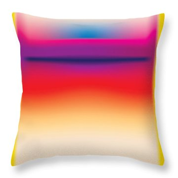After Rothko 5 Throw Pillow