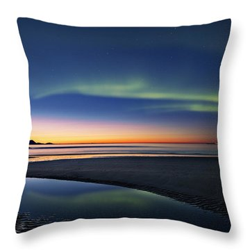 After Sunset II Throw Pillow