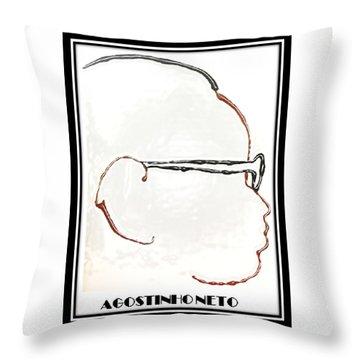 Agostinho Neto Throw Pillow