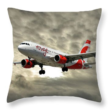 Air Canada Throw Pillows
