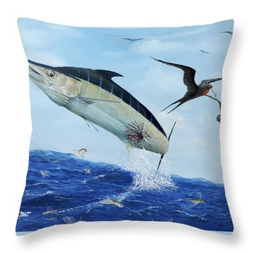 Airbourne Throw Pillow