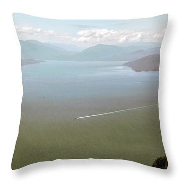 Throw Pillow featuring the photograph Alaska The Beautiful by Madeline Ellis
