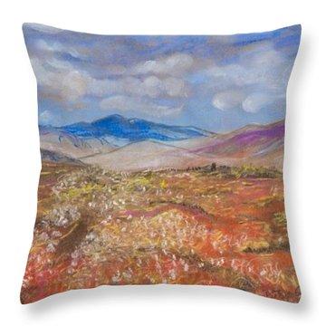 Alaskan Meadow Throw Pillow