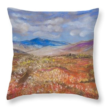 Alaskan Meadow Throw Pillow