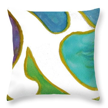 Aleph Alive Throw Pillow