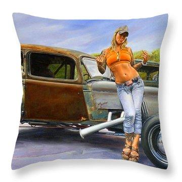 Pin Up Throw Pillows