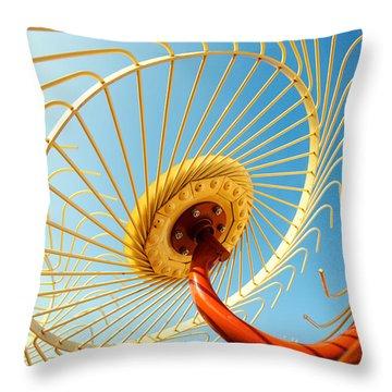 Alien Arms Throw Pillow