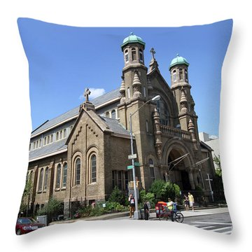All Saints Episcopal Church Throw Pillow