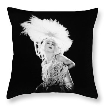 Alla Nazimova (1879-1945) Throw Pillow