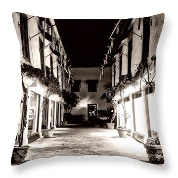 Alley Throw Pillow
