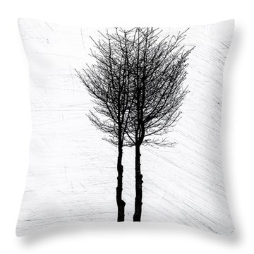 Alone Together Throw Pillow