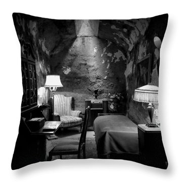 Al's Place Throw Pillow by Richard Reeve