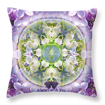 Always With You-2 Throw Pillow