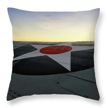 American Morning Throw Pillow