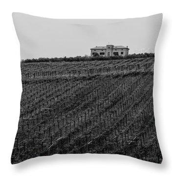 An Italian Farm In Abruzzo Throw Pillow