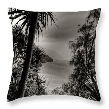 Ancient Kauai Throw Pillow