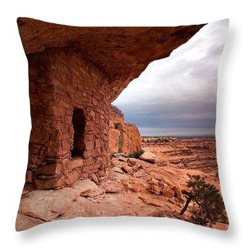 Ancient Storm Throw Pillow