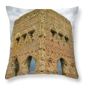 Ancient Temple Of Janus Throw Pillow