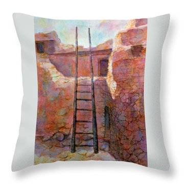 Ancient Walls Throw Pillow