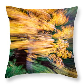 And Back Throw Pillow