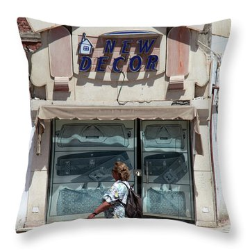 And There Throw Pillow