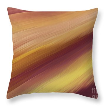 Throw Pillow featuring the digital art Andee Design Abstract 76 2017 by Andee Design
