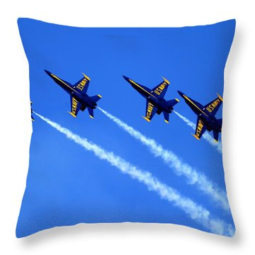 Angels Four Throw Pillow