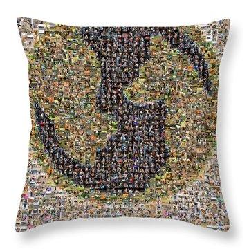 Animal Aid 2017  Throw Pillow