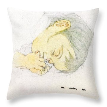 Ants Dream Throw Pillow