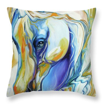 Arabian Abstract Throw Pillow