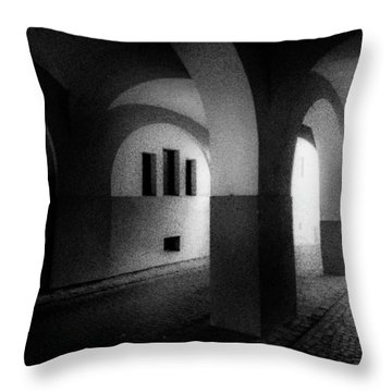 Arches Throw Pillow by Celso Bressan
