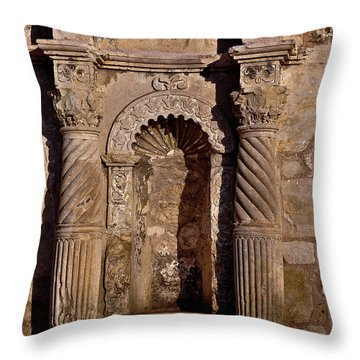 Architectural Detail Throw Pillow