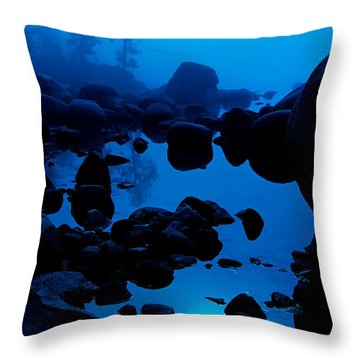Arise From The Fog Throw Pillow