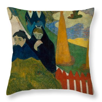 Arlesiennes Throw Pillow