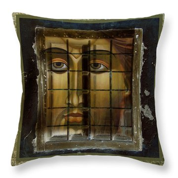 Art And Peace Throw Pillow